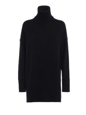 Dolce & Gabbana: Turtlenecks & Polo necks - Cashmere oversized turtleneck