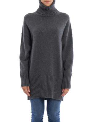 Dolce & Gabbana: Turtlenecks & Polo necks online - Cashmere oversized turtleneck
