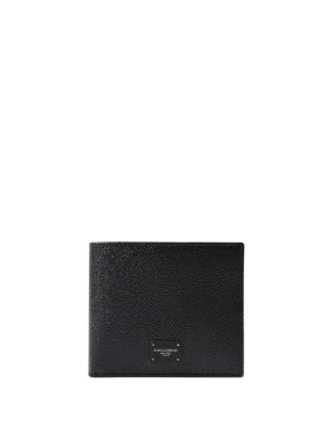 Dolce & Gabbana: wallets & purses - Dauphine leather bifold wallet