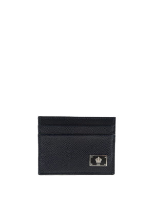 Dolce & Gabbana: wallets & purses - Dauphine leather card-case