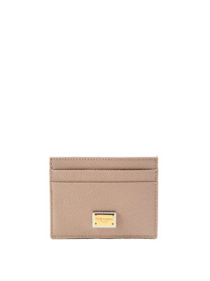 Dolce & Gabbana: wallets & purses - Dauphine leather card holder