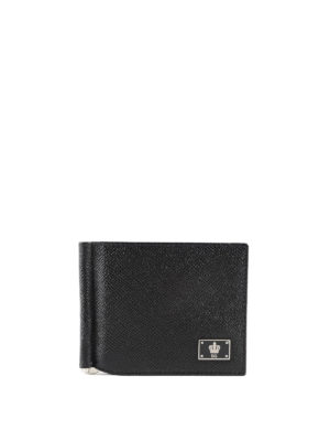 Dolce & Gabbana: wallets & purses - Dauphine leather card-holder
