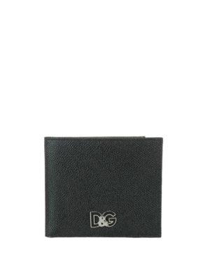 DOLCE & GABBANA: portafogli - Portafoglio D&G in pelle Dauphine