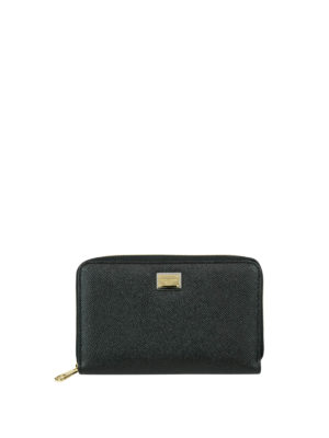 Dolce & Gabbana: wallets & purses - Dauphine leather wallet