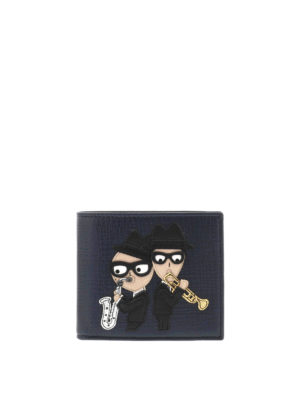 Dolce & Gabbana: wallets & purses - Designer patch leather wallet