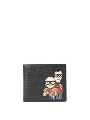 Dolce & Gabbana: wallets & purses - Designers' patches wallet
