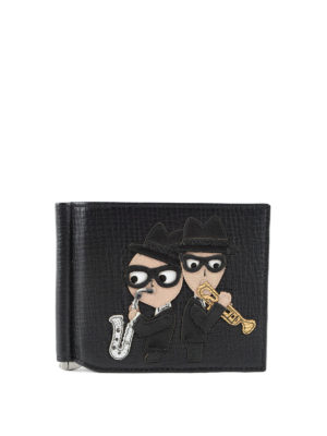 Dolce & Gabbana: wallets & purses - #dgfamily clasp leather wallet