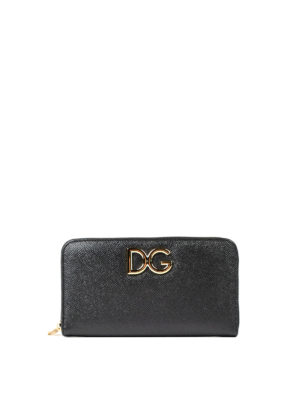 Dolce & Gabbana: wallets & purses - Floral lined leather wallet