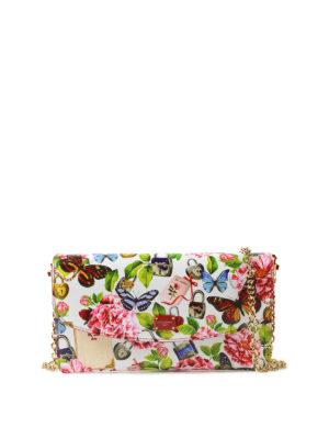 DOLCE & GABBANA: portafogli - Portafoglio stampato con catenina