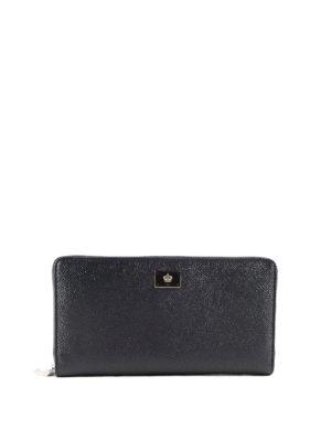 Dolce & Gabbana: wallets & purses - Leather zip around wallet