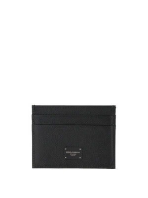 Dolce & Gabbana: wallets & purses - Leopard print leather card holder