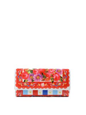 Dolce & Gabbana: wallets & purses - Mambo print leather wallet