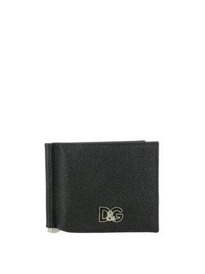 DOLCE & GABBANA: portafogli - Portafoglio D&G con fermasoldi