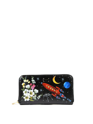Dolce & Gabbana: wallets & purses - Nuovo Rinascimento leather wallet