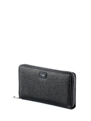 Dolce & Gabbana: wallets & purses online - Black Dauphine continental wallet