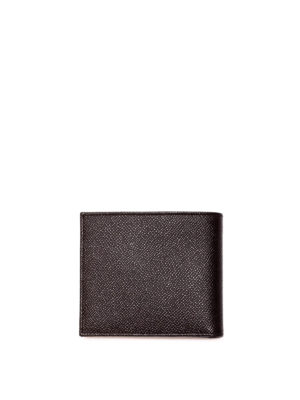 Dolce & Gabbana: wallets & purses online - Dauphine leather black wallet