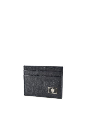 Dolce & Gabbana: wallets & purses online - Dauphine leather card-case