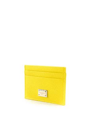 Dolce & Gabbana: wallets & purses online - Dauphine leather card holder