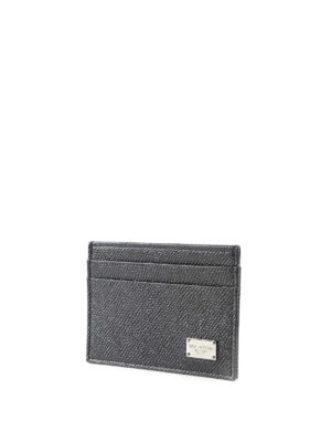 Dolce & Gabbana: wallets & purses online - Dauphine leather card holder