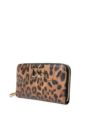 Dolce & Gabbana: wallets & purses online - Dauphine leather continental wallet