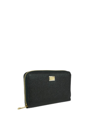 Dolce & Gabbana: wallets & purses online - Dauphine leather wallet