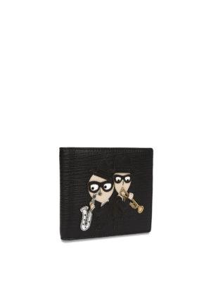 Dolce & Gabbana: wallets & purses online - Designer patch leather wallet
