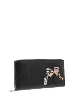 Dolce & Gabbana: wallets & purses online - Designer patch leather wallet