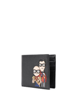 Dolce & Gabbana: wallets & purses online - Designers' patches wallet