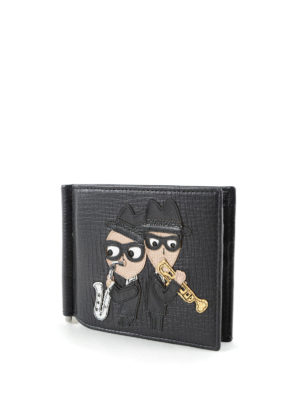 Dolce & Gabbana: wallets & purses online - #dgfamily clasp leather wallet