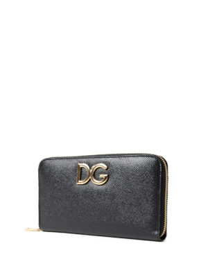 Dolce & Gabbana: wallets & purses online - Floral inner saffiano wallet