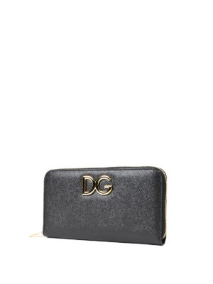 Dolce & Gabbana: wallets & purses online - Floral lined leather wallet