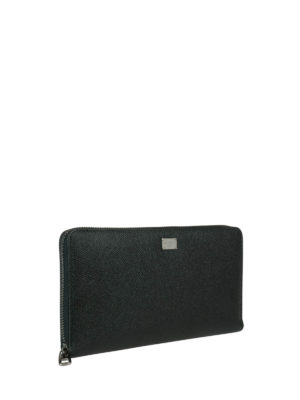 Dolce & Gabbana: wallets & purses online - Hammered leather wallet