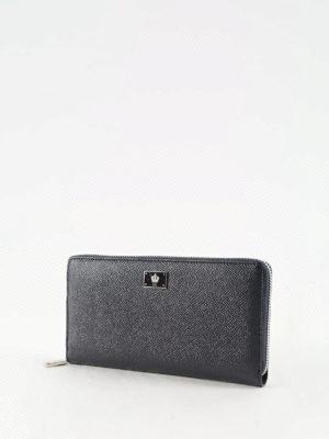 Dolce & Gabbana: wallets & purses online - Leather zip around wallet
