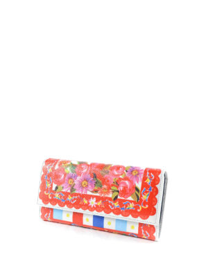 Dolce & Gabbana: wallets & purses online - Mambo print leather wallet