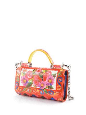 Dolce & Gabbana: wallets & purses online - Mini Von Bag case and card holder