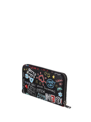 Dolce & Gabbana: wallets & purses online - Mural print leather wallet