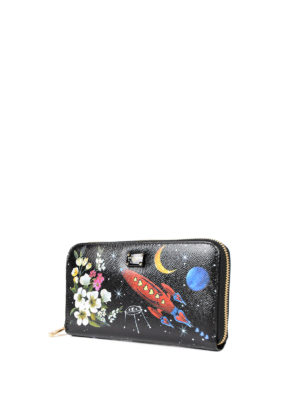 Dolce & Gabbana: wallets & purses online - Nuovo Rinascimento leather wallet