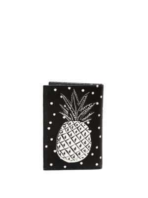 Dolce & Gabbana: wallets & purses online - Pineapple print bi-fold wallet