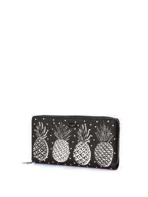 Dolce & Gabbana: wallets & purses online - Pineapple print zip around wallet