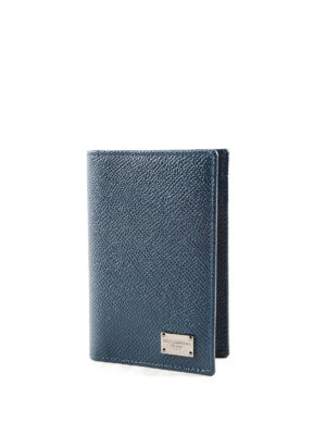 Dolce & Gabbana: wallets & purses online - Solid leather bifold card holder