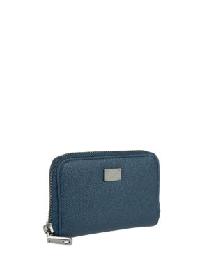Dolce & Gabbana: wallets & purses online - Zip around leather wallet