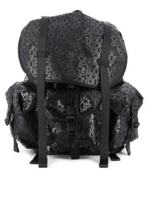 DONDUP: backpacks - Logo print backpack