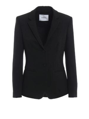 DONDUP: giacche blazer - Blazer classico nero