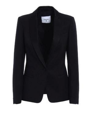 Dondup: blazers - Elysia stretch wool blazer