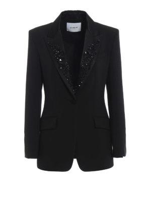 DONDUP: giacche blazer - Blazer Filippa con revers decorati