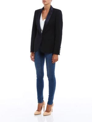 Dondup: blazers online - Elysia stretch wool blazer