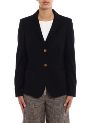 Dondup: blazers online - Evanescence fitted black blazer