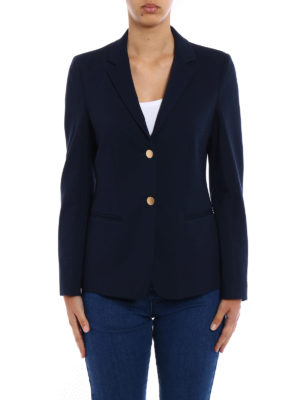 Dondup: blazers online - Evanescence fitted blue blazer