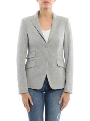 Dondup: blazers online - Lissa melange jersey blazer