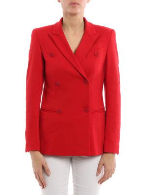 Dondup: blazers online - Mhina shaped blazer